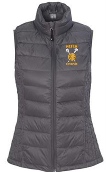 Picture of Alter Girls Lacrosse Women's 32 Degrees Packable Down Vest by Weatherproof 16700W - Dark Pewter