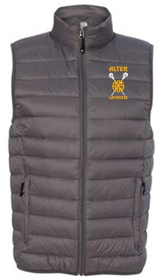 Picture of Alter Girls Lacrosse Unisex 32 Degrees Packable Down Vest by Weatherproof 16700 - Dark Pewter