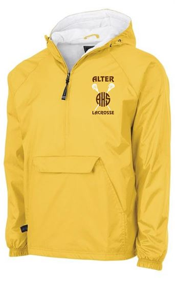 Picture of Alter Girls Lacrosse Unisex All Weather Pullover by Charles River 9905 - White or Gold