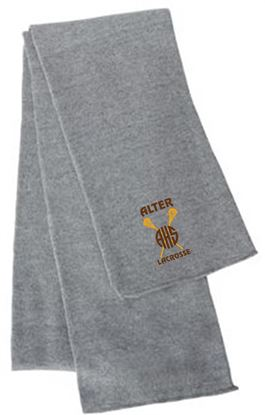 Picture of Alter Girls Lacrosse Scarf by Sportsman SP04 -  Grey