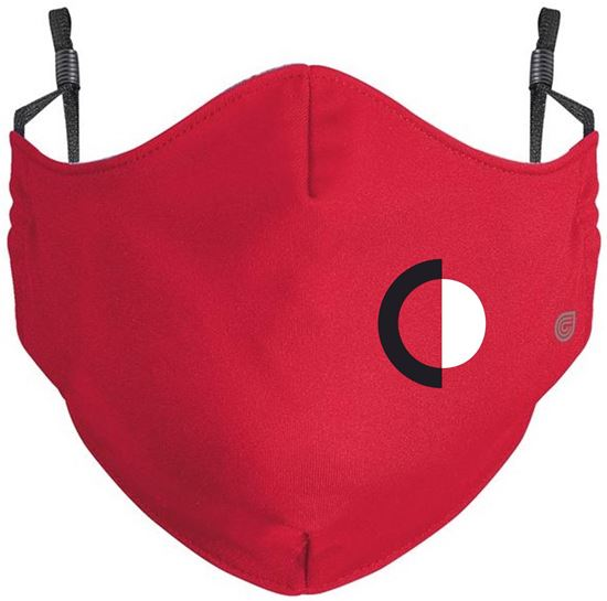 Picture of CinDay Youth or Adult Coolcore Mask by Holloway 222508/222608 - Grey or Red