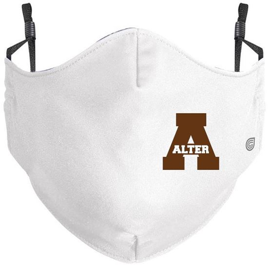 Picture of Alter Youth or Adult Coolcore Mask by Holloway 222508/222608 - White or Grey