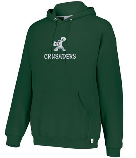 Picture of Incarnation Foil Logo Hoodie by Russell 695HBM - Dark Green